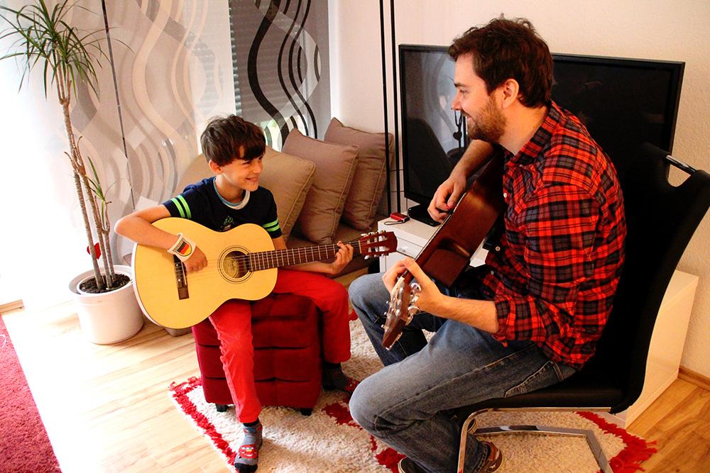Privater Gitarrenunterricht